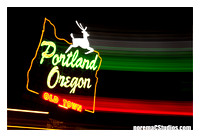 PDX Light Painting